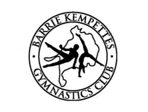 Barrie Kempettes Gymnastics Club Logo