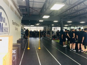OHL Barrie Colts Fitness Testing at M2M 2018