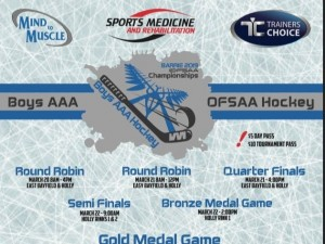 OFSSA Boys AAA hockey Mar 20-22 2019